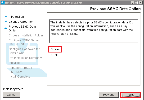 confirming using existng ssmc data