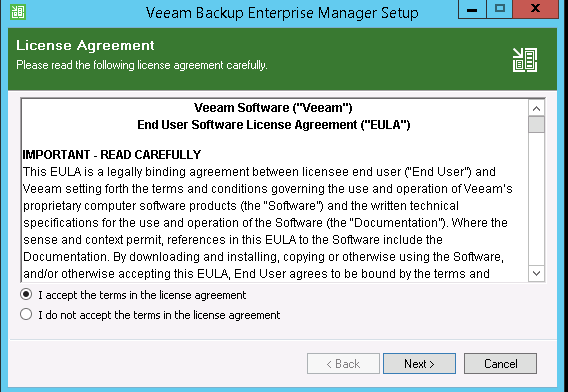 Veeam Upgrade Steps – d8taDude