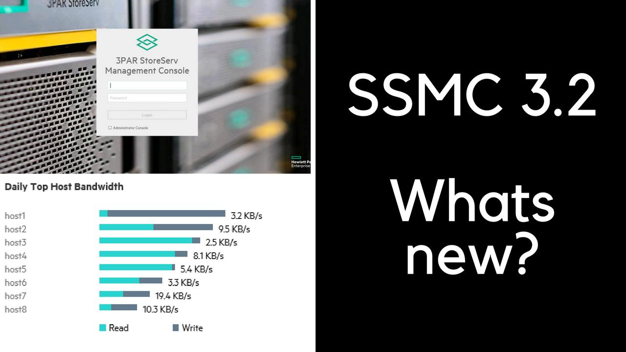 3PAR SSMC 3.2 video demonstration