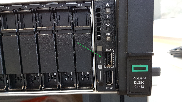 HPE iLO Service port – How to use it? – d8taDude