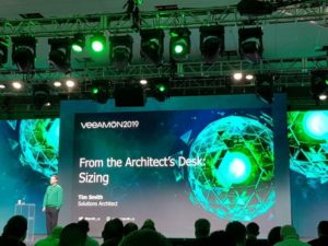 Veeam sizing session from Veeamon