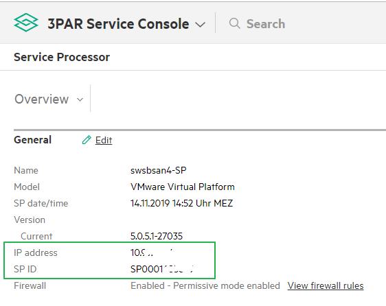 10 Service processor values